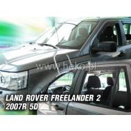 HEKO ofuky oken Land Rover Freelander 5dv (2007-2014) přední + zadní