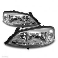 Přední světla Opel Astra G (98-04) - chrom