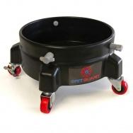 Grit Guard Bucket Dolly - pojízdná podložka pro kbelík - černá