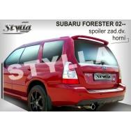 Stylla spoiler zadních dveří Subaru Forester II (2002 - 2007)
