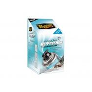 Meguiars Air Re-Fresher Odor Eliminator - dezinfekce klimatizace + pohlcovač pachů + osvěžovač vzduchu (vůně nového auta), 71 g