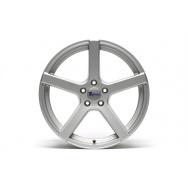 TA Technix XF1 ALU lité kolo konkávní 9,5x19 - stříbrná, 5x112, 66,6/57,1 ET35