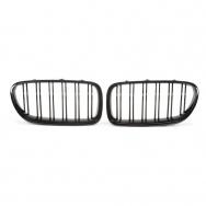 JOM ledvinky přední kapoty BMW 5 (typ F10 / F11 / F18, r. v. 2010-2015) - černé, M Style