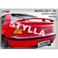 Stylla spoiler zadního víka Mazda 323F (1989 - 1994)