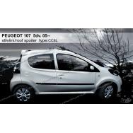 Stylla spoiler zadních dveří Peugeot 107 5dv (2005 - 2014)