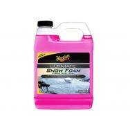 Meguiar's Ultimate Snow Foam Xtreme Cling Wash - extra hustý, pH neutrální autošampon do napěňovače / pro předmytí, 946 ml