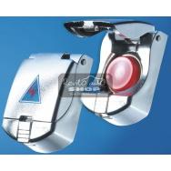 Foliatec startovací tlačítko - stříbrné