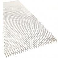 Hliníkový tahokov, kosočtverec, 100 x 25 cm - stříbrný