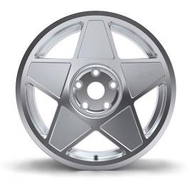 Alu kola 3SDM 0.05, 8,5x19 - stříbrná / leštění
