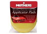 Mothers Microfiber Applicator Pads - jemné mikrovláknové aplikátory 2 ks, průměr 12,5 cm