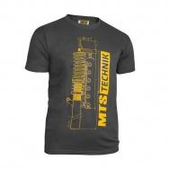 MTS Technik Strut tričko - tmavě šedá