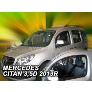 HEKO ofuky oken Mercedes Benz Citan W415 3/5dv (2012-) přední