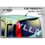 Stylla spoiler zadních dveří Fiat Panda II (2003 - 2012) - horní