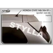 Stylla spoiler zadních dveří Honda Civic 3dv (2001 - 2005) - horní