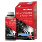 Mothers Odor Eliminator & Refresher - osvěžovač vzduchu a pohlcovač pachů v interiéru a klimatizaci, vůně New Car, 57 g