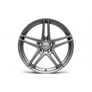 TA Technix XF3 ALU lité kolo konkávní 8,5x19 - šedá Gunmetal, 5x112, 66,6/57,1 ET35