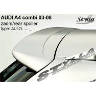 Stylla spoiler zadních dveří Audi A4 Avant (8E / B6, 2001 - 2008) horní