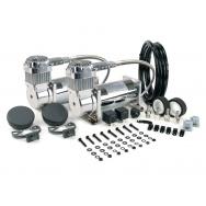 Dual Pack balení vzduchových kompresorů VIAIR 380C Chrom