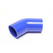 TA Technix silikonová hadice - koleno 45° - 80mm vnitřní průměr, délka 125mm