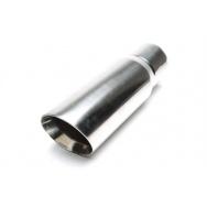 TA Technix koncovka výfuku nerezová - elipsa / zkosená, 120x130mm