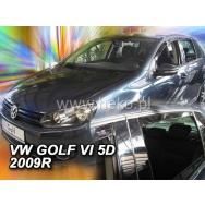 HEKO ofuky oken Volkswagen Golf VI htb 5dv (2008-2012) přední + zadní