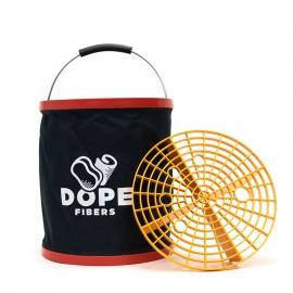 Dope Fibers Bucket Dope - skládací kbelík se separační vložkou Grit Guard