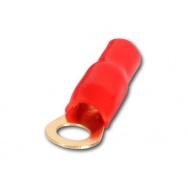CHP kabelové oko 16 qmm červené