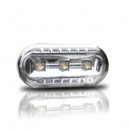 Boční blinkry VW Golf III / Vento (od 10.95) s LED, chom