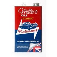 Motorový olej Millers Oils Classic Pistoneeze 30, 5L