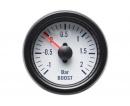 Autogauge přídavný tlak turba - bílý