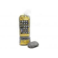 Super Fine Steel Wool - Pack of 16 - ocelová vlna pro leštění kovů, super jemná, 16 ks