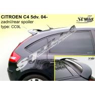 Stylla spoiler zadních dveří Citroen C4 5dv (2004 - 2010) - horní