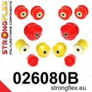 Strongflex sportovní silentbloky Audi A4 B6 01-05, sada pro přední nápravu