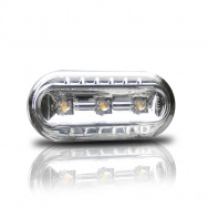 Boční blinkry VW Golf IV / Bora s LED, chom