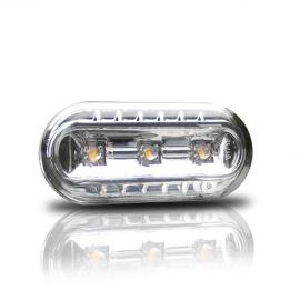 Boční blinkry VW Golf IV / Bora s LED, chom