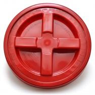 Grit Guard Gamma Seal víko na kbelík - červené