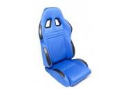 TA Technix sportovní sedačka sklopná - modrá, levá