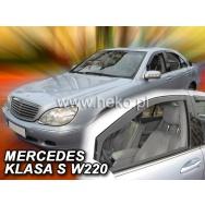 HEKO ofuky oken Mercedes Benz S W220 4dv (1999-2005) přední