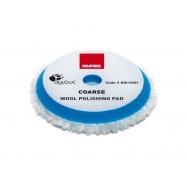 """RUPES Blue Wool Polishing Pad COARSE - vlněný korekční kotouč (tvrdý) pro orbitální leštičky, průměr 80/100 mm (3""""/4"""")"""