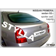 Stylla spoiler zadního víka Nissan Primera sedan (2002 - 2008)