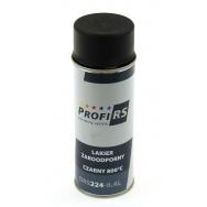 Sprej (lak) na termoizolační pásky (omotávky výfuku) - 400ml, černý