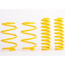 Sportovní pružiny ST suspensions pro Seat Leon (5F) ST, Kombi, r.v. od 09/13, 1.4TSi, jednoprvková ZN, snížení 40/40mm