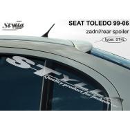Stylla spoiler zadních dveří Seat Toledo II (1999 - 2004) - horní