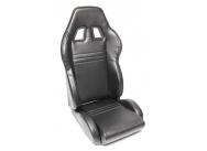 TA Technix sportovní sedačka sklopná - černá koženka, levá