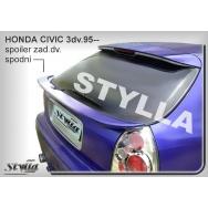 Stylla spoiler zadních dveří Honda Civic 3dv (1996 - 2001) - dolní