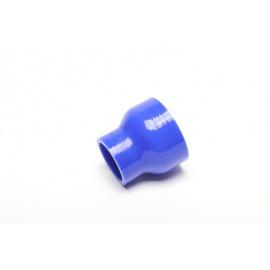 Silikonová hadice - rovná redukce - 70/57 mm vnitřní průměr, délka 75 mm