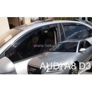 HEKO ofuky oken Audi A8 (D3, 2003-2010) přední + zadní