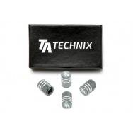 TA Technix čepičky ventilků - šedé