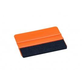 FOLIATEC plastová aplikační stěrka s filcem, pro lepení fólií a samolepek
