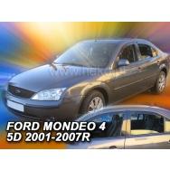 HEKO ofuky oken Ford Mondeo sedan + liftback 4dv (2001-2007) přední + zadní